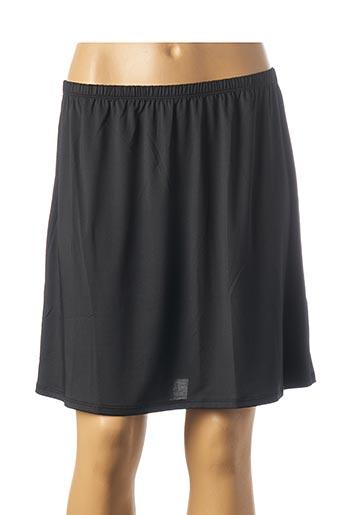 Jupon /Fond de robe noir ROSE POMME pour femme