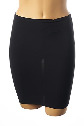 Jupon /Fond de robe noir WACOAL pour femme