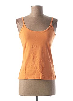 Top orange HEINE pour femme
