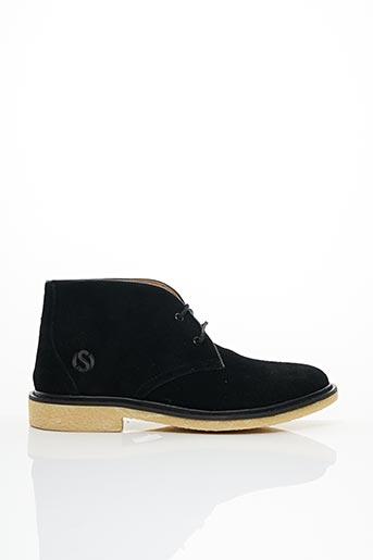 Bottines/Boots noir COOL SHOE pour femme