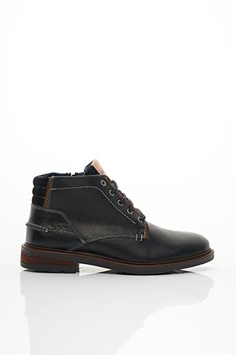 Bottines/Boots noir COTEMER pour homme