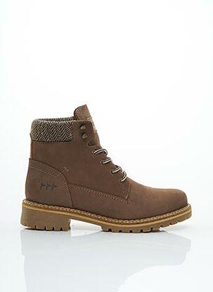 Bottines/Boots marron COTEMER pour femme