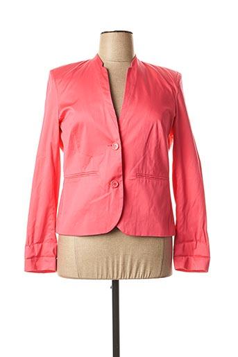 Veste chic / Blazer rose DIANE LAURY pour femme
