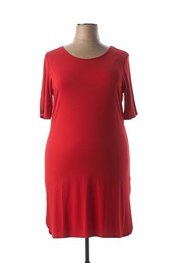 Robe mi-longue rouge APRICO pour femme