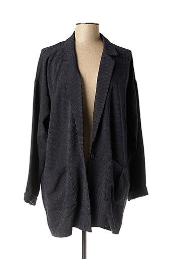 Veste casual bleu ICHI pour femme