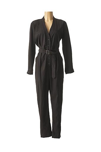 Combi-pantalon noir CHANTAL.B pour femme
