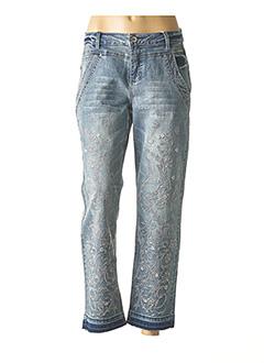Jeans coupe droite bleu CREAM pour femme