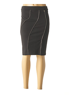 Jupe mi-longue noir RINASCIMENTO pour femme