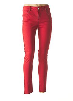 Pantalon casual rouge LPB pour femme