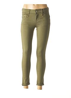 Pantalon casual vert LPB pour femme