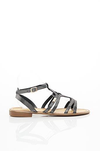 Sandales/Nu pieds noir J&J SHOES pour femme
