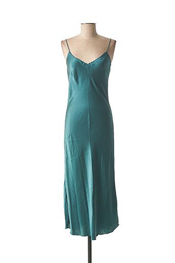 Robe longue vert CHARLIE JOE pour femme