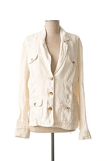 Veste chic / Blazer beige SCAPA pour femme