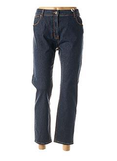 Jeans coupe slim bleu SCAPA pour femme