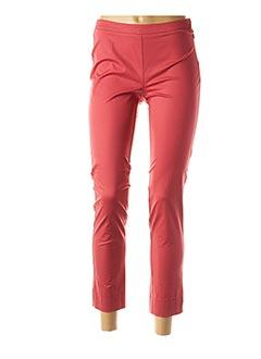 Pantalon 7/8 rouge ROSSO 35 pour femme