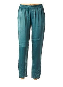 Pantalon 7/8 vert CHARLIE JOE pour femme