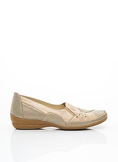 Chaussures de confort rose GEO-REINO pour femme
