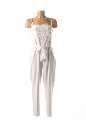 Combi-pantalon blanc ESPRIT pour femme