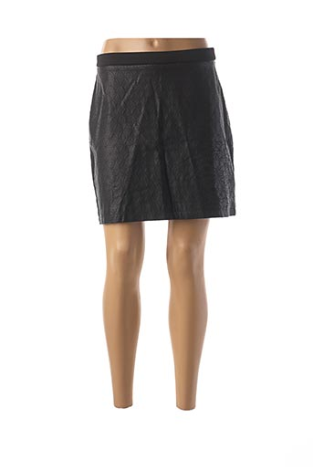 Jupe courte noir DESIGUAL pour femme