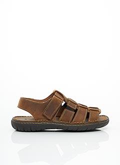 Sandales/Nu pieds marron ALTEX pour homme