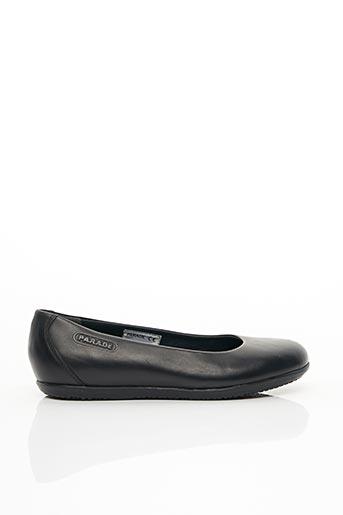 Chaussures professionnelles noir PARADE pour femme