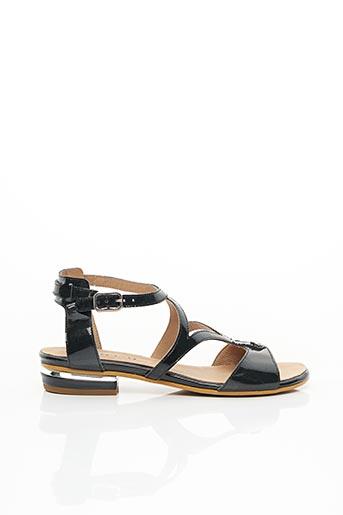 Sandales/Nu pieds noir GEO-REINO pour femme