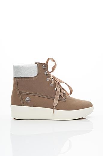 Bottines/Boots marron TIMBERLAND pour femme