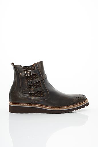 Bottines/Boots marron ANGEL INFANTES pour homme
