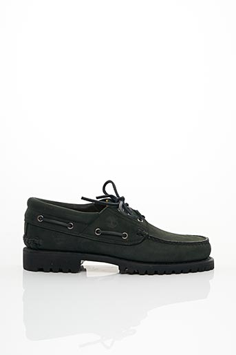 Chaussures bâteau vert TIMBERLAND pour homme