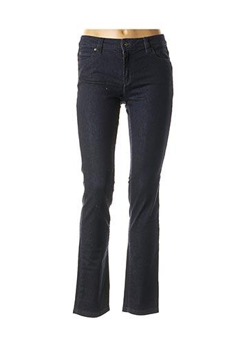 Jeans coupe slim bleu DENIM STUDIO pour femme