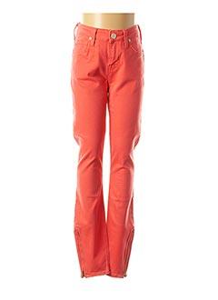 Pantalon casual rouge LEE pour femme