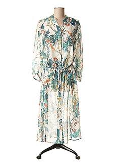 Robe mi-longue vert B.YOUNG pour femme
