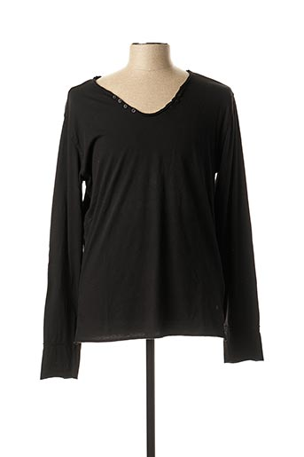 T-shirt manches longues noir FREESOUL pour homme