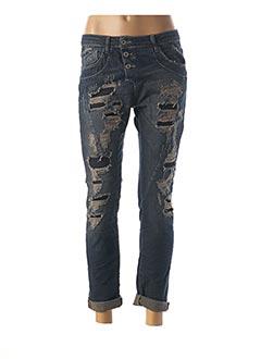 Jeans boyfriend bleu PLEASE pour femme