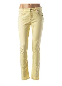 Pantalon casual jaune R95TH pour femme