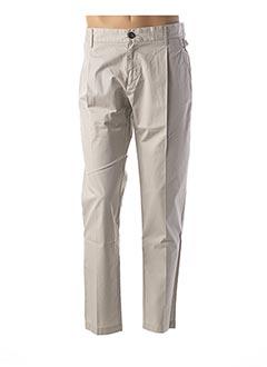 Pantalon casual gris DIESEL pour homme