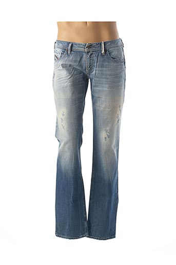 Jeans coupe droite bleu DIESEL pour femme