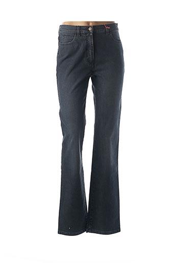 Jeans coupe droite bleu SCAPA pour femme