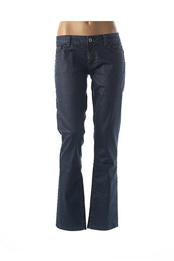 Jeans coupe slim bleu FREESOUL pour femme