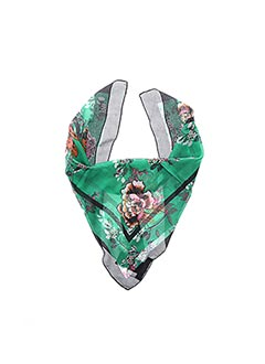 Foulard vert FRANSA pour femme