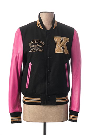 Veste en cuir rose KAPORAL pour femme