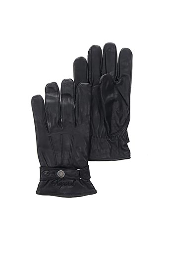 Gants noir KAPORAL pour homme