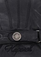 Gants noir KAPORAL pour homme seconde vue
