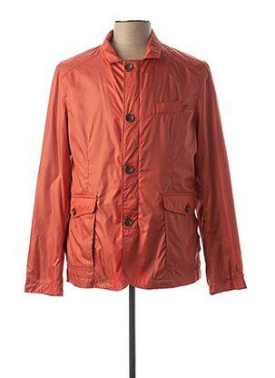 Veste casual orange CH. K. WILLIAMS pour homme