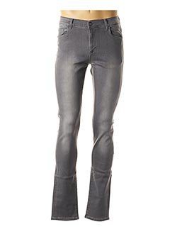 Jeans coupe slim gris CH. K. WILLIAMS pour homme