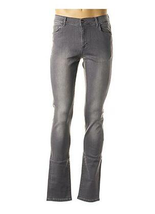 Jeans coupe slim gris CH. K. WILLIAMS pour homme
