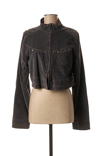 Veste casual gris BANDE ORIGINALE pour femme
