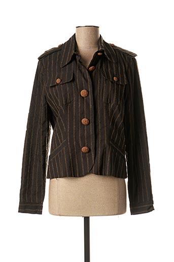 Veste casual marron COTTONADE pour femme