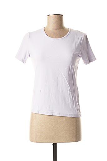 T-shirt manches courtes violet CHATTAWAK pour femme