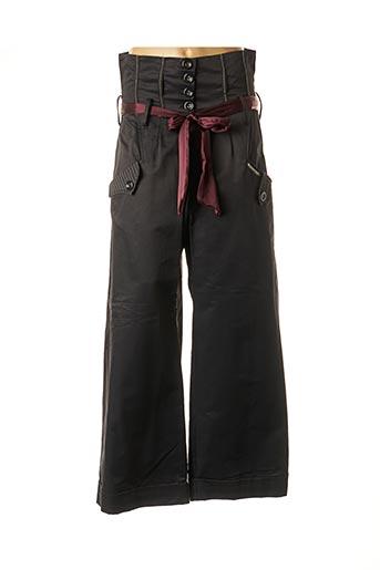 Pantalon chic noir DES FILLES A LA VANILLE pour femme